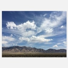 Scenic Desert, Blue Sky Invitations