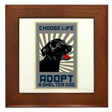 Choose Life Framed Tile