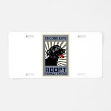Choose Life Aluminum License Plate