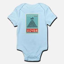 To Neuter is Cuter Infant Bodysuit