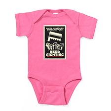 Keep Fighting Baby Bodysuit