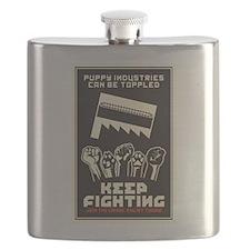 Keep Fighting Flask