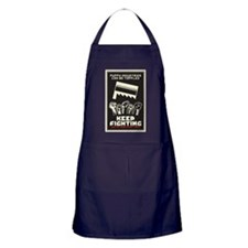 Keep Fighting Apron (dark)