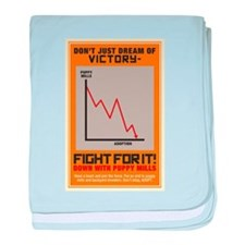 Fight For Victory baby blanket