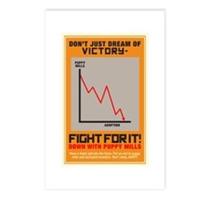 Fight For Victory Postcards (Package of 8)