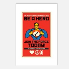 Be A Hero Postcards (Package of 8)