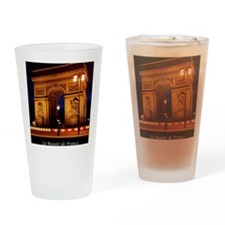 The Beauty of France:Arch de Triomp Drinking Glass