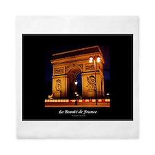 The Beauty of France:Arch de Triomphe Queen Duvet