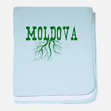 Moldova Roots baby blanket