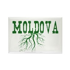 Moldova Roots Rectangle Magnet