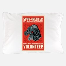 Spay And Neuter Pillow Case