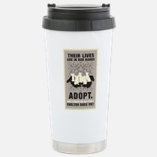 Don't Breed Or Buy Stainless Steel Travel Mug