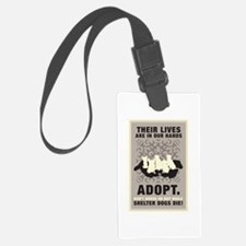 Don't Breed Or Buy Luggage Tag