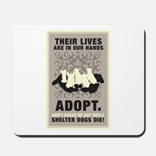 Don't Breed Or Buy Mousepad