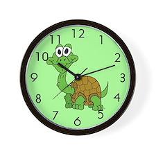 Cartoon Baby Turtle Wall Clock