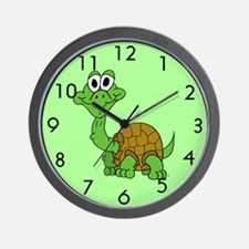 Cartoon Baby Turtle Wall Clock