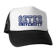 GETER University Trucker Hat