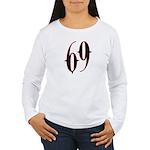 Incubus 69 Women's Long Sleeve T-Shirt