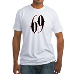 Incubus 69 Fitted T-Shirt