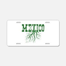 Mexico Roots Aluminum License Plate