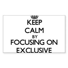 Keep Calm by focusing on EXCLUSIVE Decal