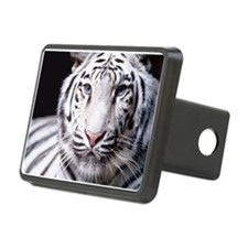 White Bengal Tiger Hitch Cover