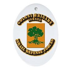 Golani-Brigade Ornament (Oval)