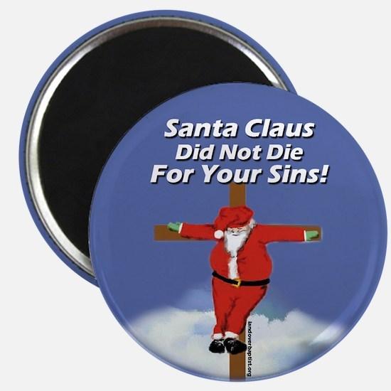 Santa Cross Magnet