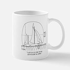 Sailing Cartoon 0352 Mug