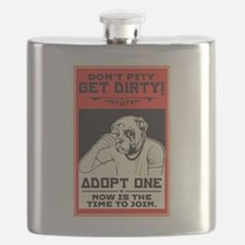 Don't Pity, Get Dirty! Flask