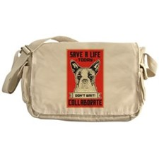Save A Life Messenger Bag