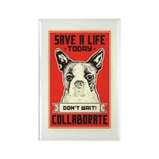 Save A Life Rectangle Magnet