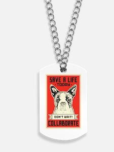 Save A Life Dog Tags