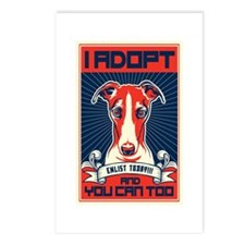 I Adopt Postcards (Package of 8)
