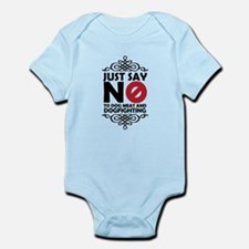 No To Dog Meat & Dogfighting Infant Bodysuit