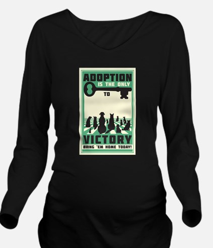 The Key To Victory Long Sleeve Maternity T-Shirt