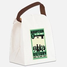 The Key To Victory Canvas Lunch Bag