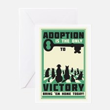 The Key To Victory Greeting Card
