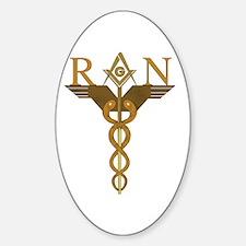 Nursing Masons Oval Decal