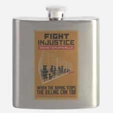 Fight Injustice Flask