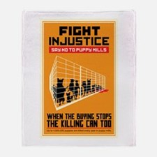 Fight Injustice Throw Blanket