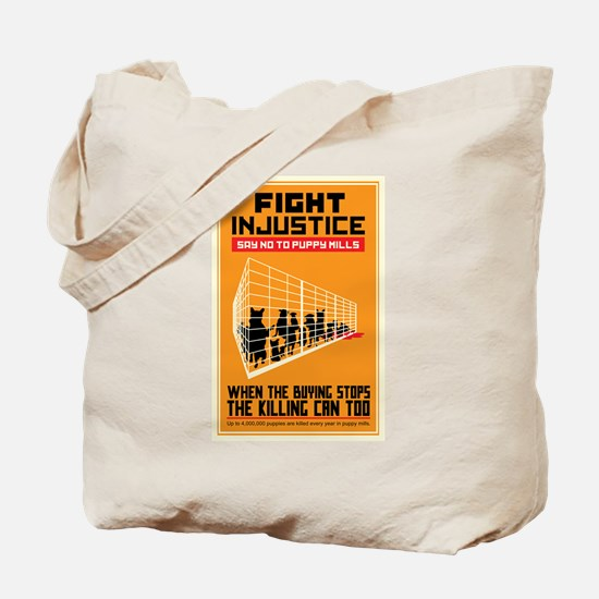 Fight Injustice Tote Bag