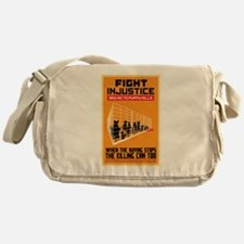 Fight Injustice Messenger Bag
