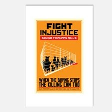 Fight Injustice Postcards (Package of 8)