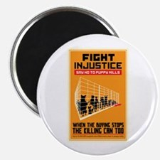"Fight Injustice 2.25"" Magnet (10 pack)"