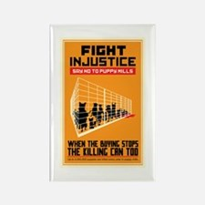 Fight Injustice Rectangle Magnet (100 pack)