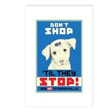 Say No To Puppy Mills Postcards (Package of 8)