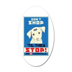 Say No To Puppy Mills Wall Decal