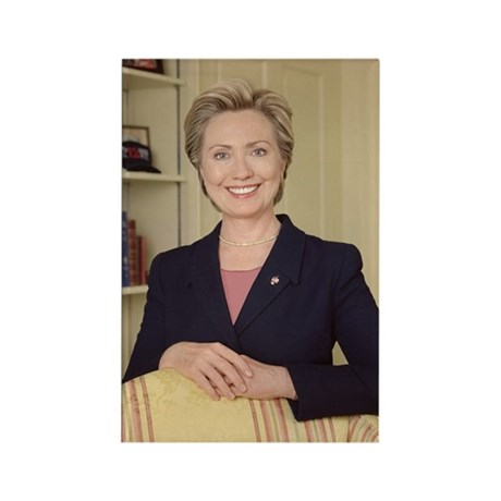 Sen. Hillary Rodham Clinton Rectangle Magnet (10 p