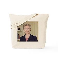 Sen. Hillary Rodham Clinton Tote Bag